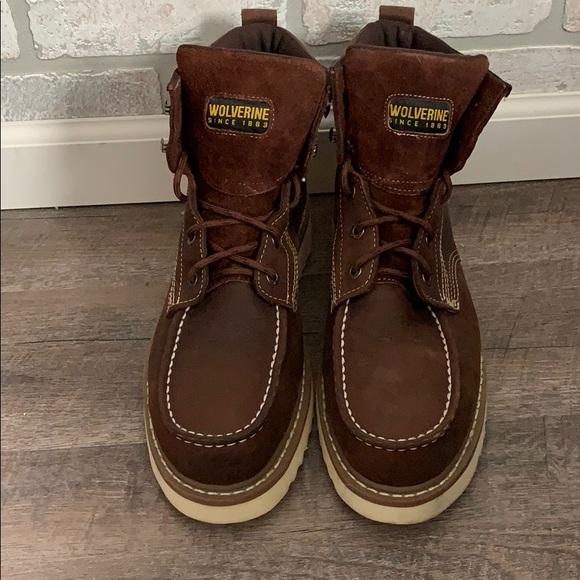 8214110f25e Wolverine work boots
